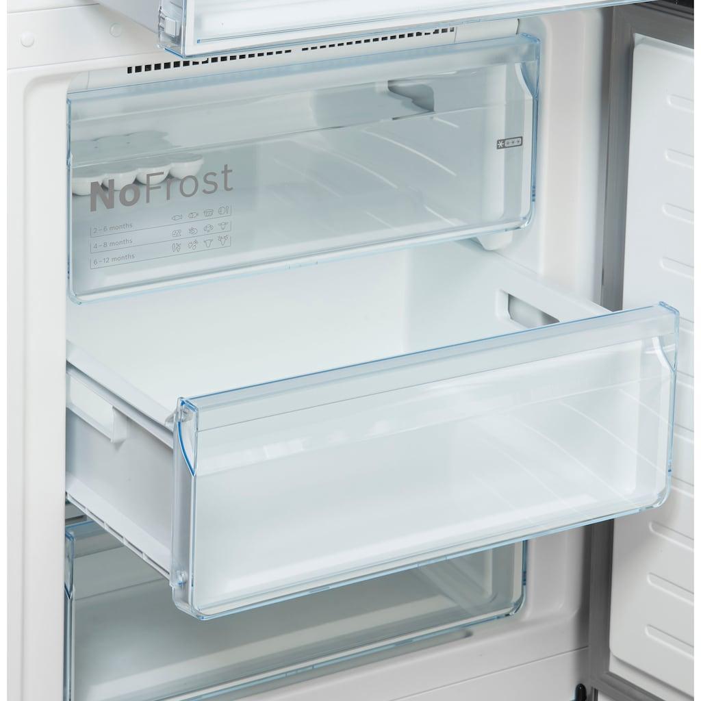 BOSCH Kühl-/Gefrierkombination »KGN49XIDP«, KGN49XIDP, 203 cm hoch, 70 cm breit