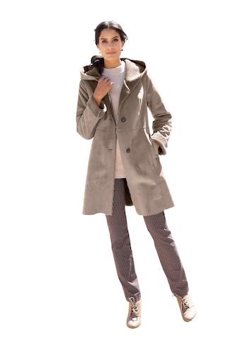 Mainpol Mantel aus wärmendem Velourslederimitat kaufen