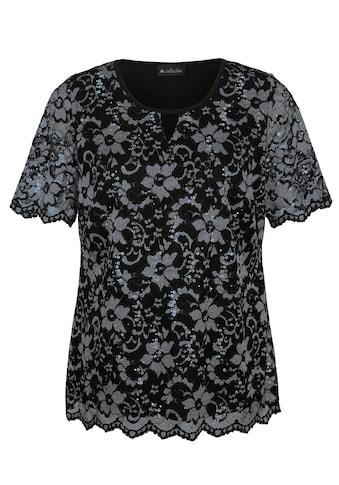 m. collection Spitzenshirt kaufen