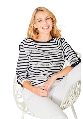 Hajo Modischer Feinstrick - Pullover Dreiviertelarm kaufen