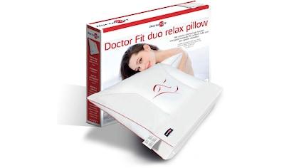 MPS TEXTILES Nackenstützkissen »Doctor Fit. duo relax pillow red«, (1 St.), überzeugt... kaufen