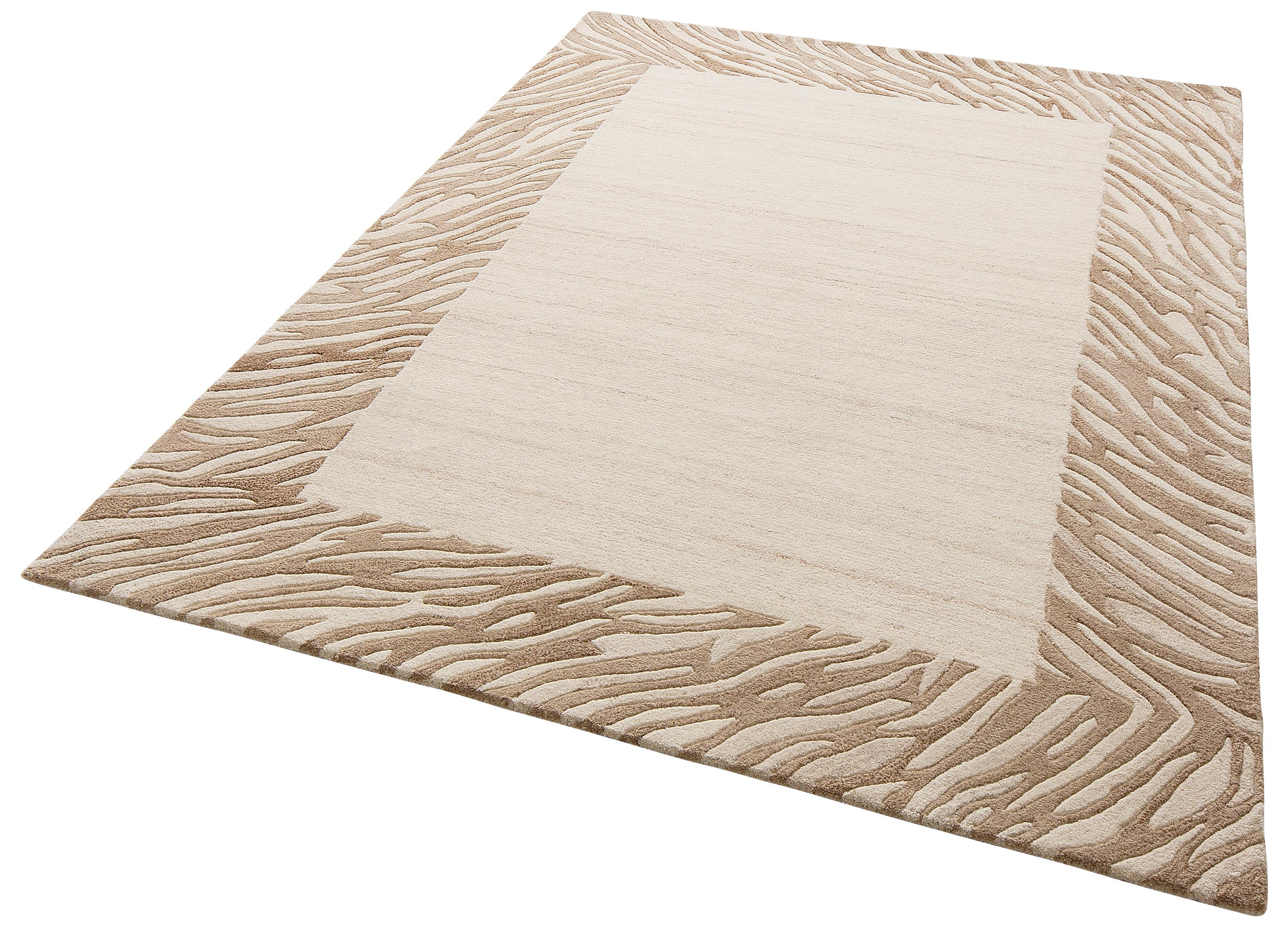 Wollteppich Kübra Theko Exklusiv rechteckig Höhe 14 mm handgetuftet