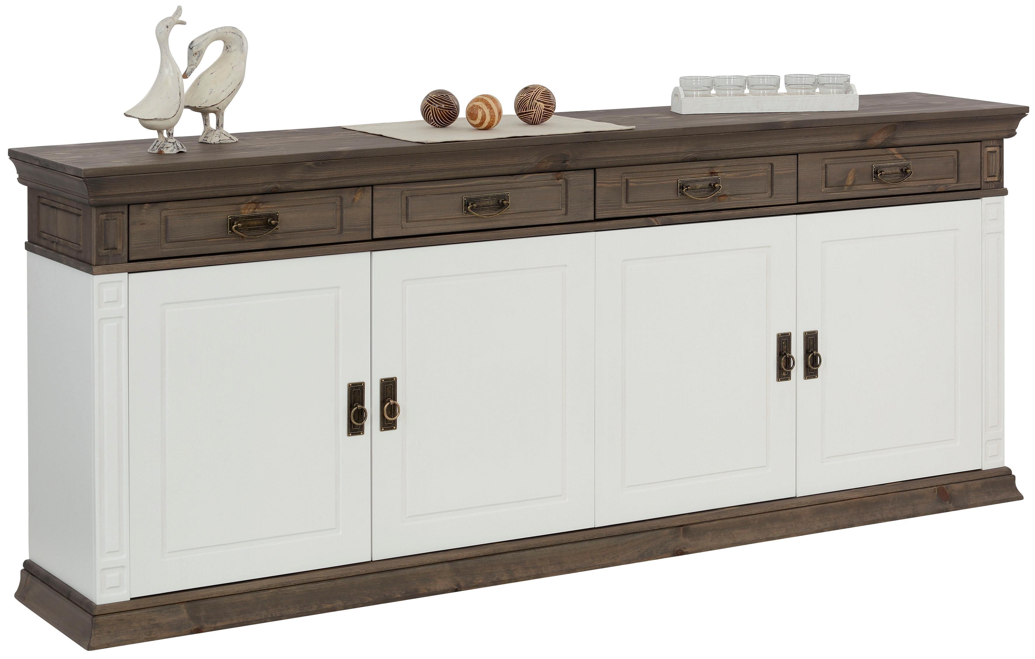 Home affaire Sideboard Vinales im klassischen Landhausstil Breite 204 cm