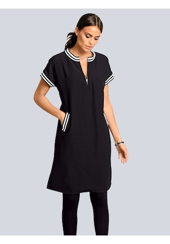 Alba Moda Kleid Athleisure in sportiver Optik mit Streifendetails kaufen