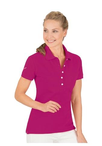 Trigema Poloshirt mit Swarovski® Kristallen kaufen