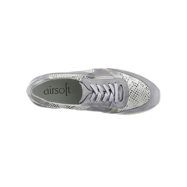 Airsoft Schnürschuh mit Wechselfußbett