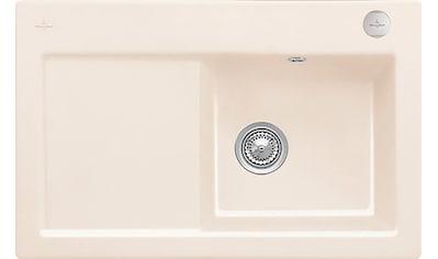 Villeroy & Boch Küchenspüle »Subway 45«, inkl. Ablaufgarnitur mit Excenterbetätigung,... kaufen