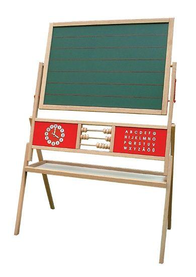 roba Standtafel, aus Holz bunt Kinder Ab 3-5 Jahren Altersempfehlung Tafeln