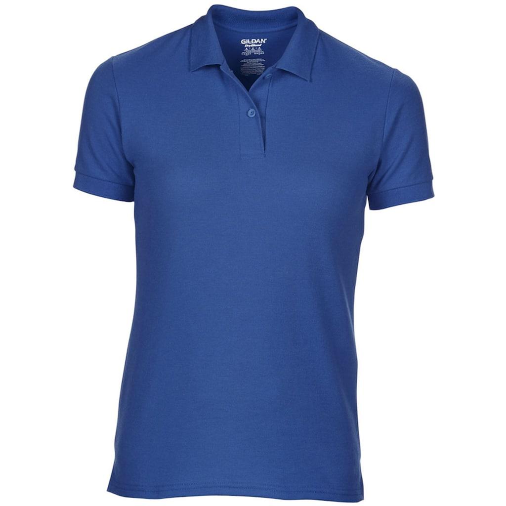 Gildan Poloshirt »DryBlend Damen Sport Polo-Shirt, Kurzarm«