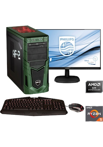 Hyrican »Military SET1874« Gaming - PC - Komplettsystem (AMD, Ryzen 5, GeForce) kaufen