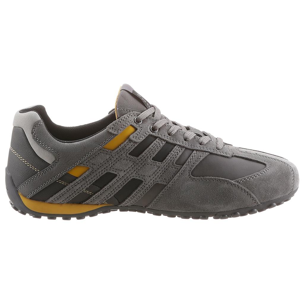 Geox Sneaker »UOMO SNAKE«, mit atmungsaktiver Geox-Membran