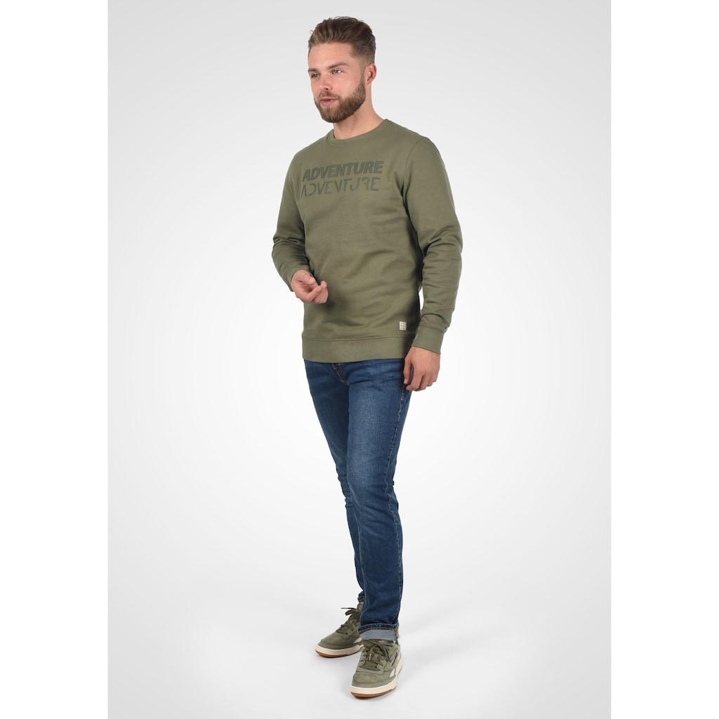 Blend Sweatshirt »Vento«, Sweatshirt mit Frontprint