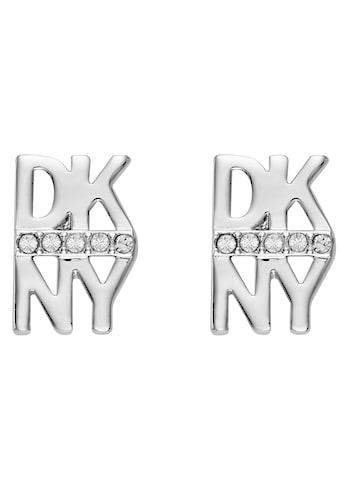 DKNY Paar Ohrstecker »Stacked Pave Logo Stud ER (RH), 5520003« kaufen
