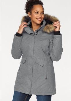 Kangaroos Softshell Damen Jacke Online Schlamm Schwarz
