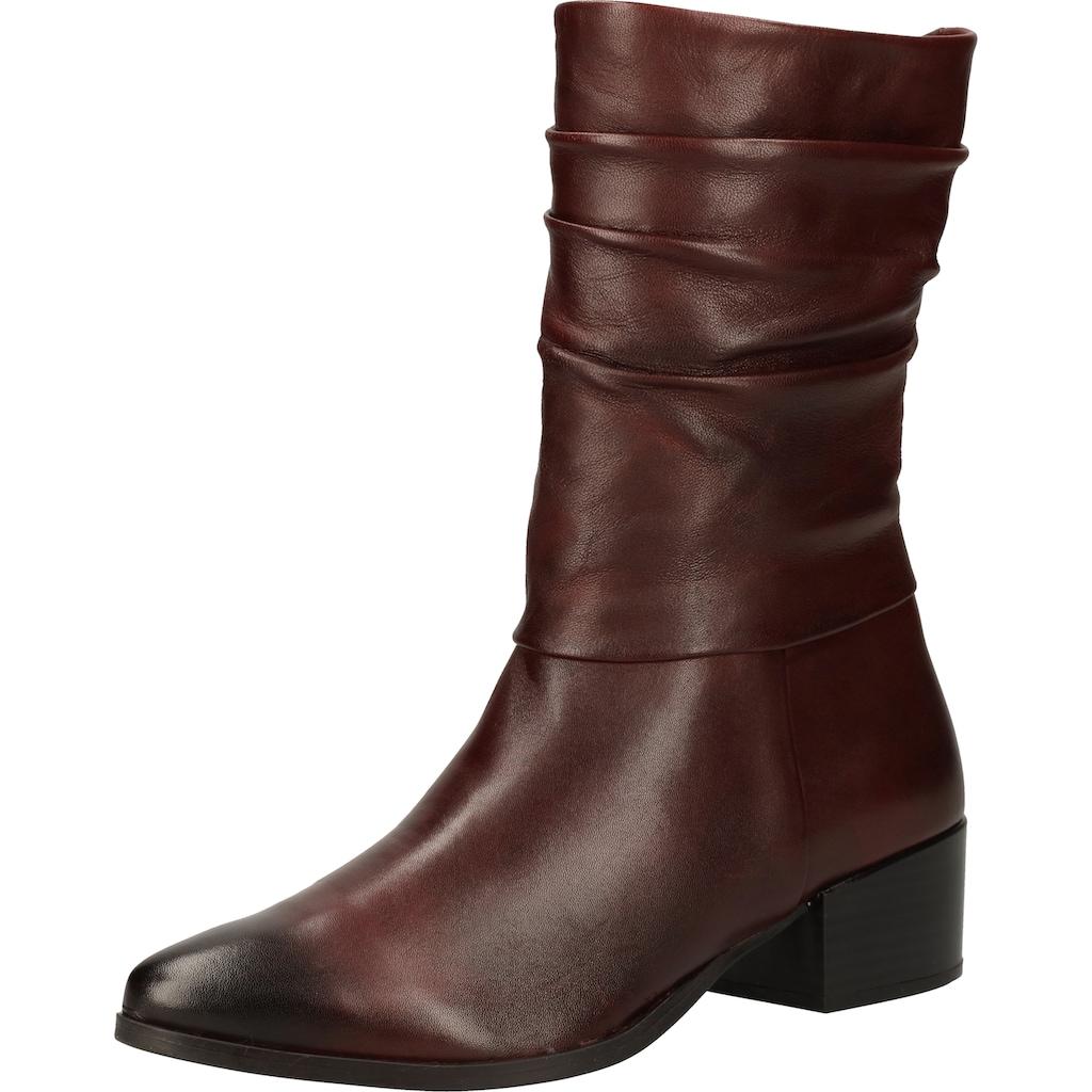 MARCO TOZZI Stiefel »Leder«