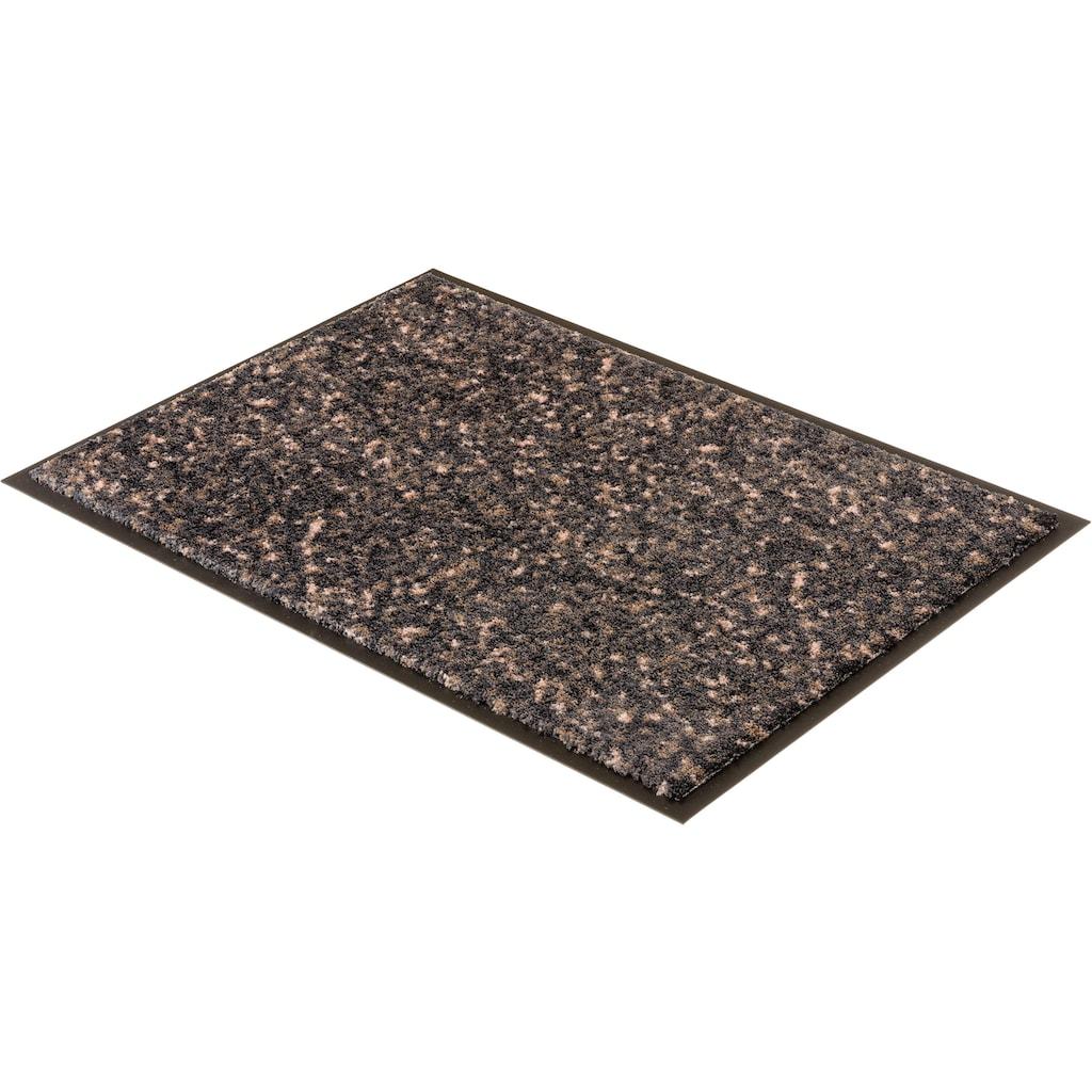 SCHÖNER WOHNEN-Kollektion Fußmatte »Miami 004«, rechteckig, 7 mm Höhe, Schmutzfangmatte, waschbar
