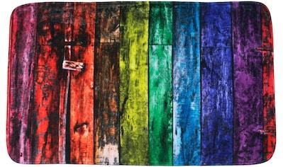Sanilo Badematte »Rainbow«, Höhe 15 mm, schnell trocknend, Memory Schaum kaufen