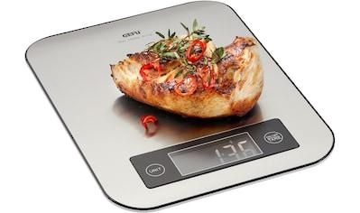 GEFU Küchenwaage »SCORE«, Bluetooth Funktion mit Datenübertragung in Echtzeit auf das Handy kaufen
