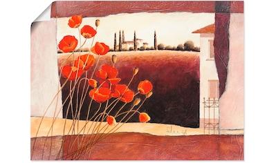 Artland Wandbild »Stillleben mit Sonnenblumen« kaufen