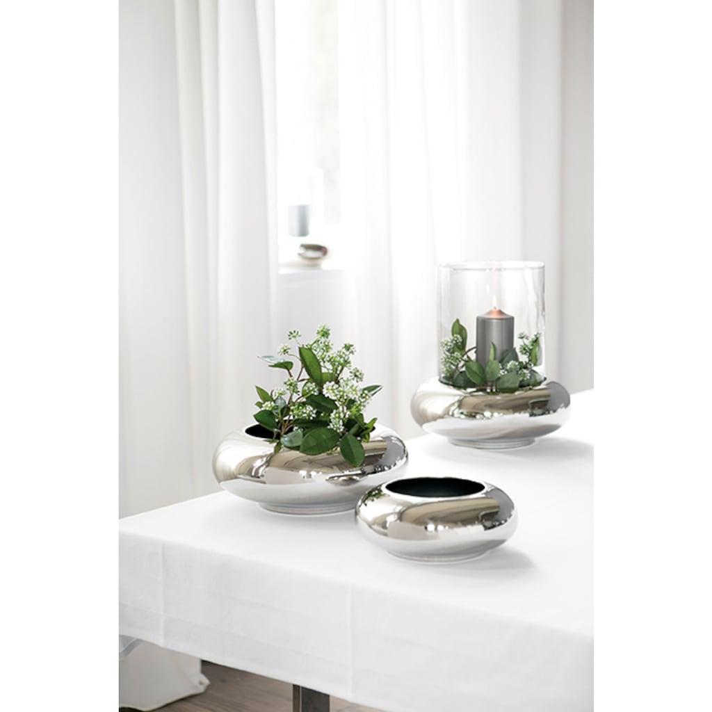 Fink Windlicht »DELPHI«, aus Edelstahl und Glas