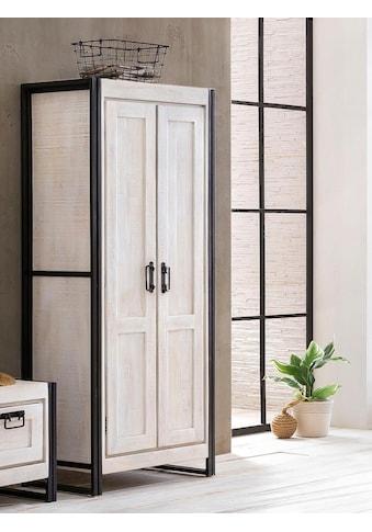 SIT Garderobenschrank »White Panama«, im Vintage Look kaufen