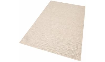 Wollteppich, »Wolly«, My HOME, rechteckig, Höhe 14 mm, handgewebt kaufen