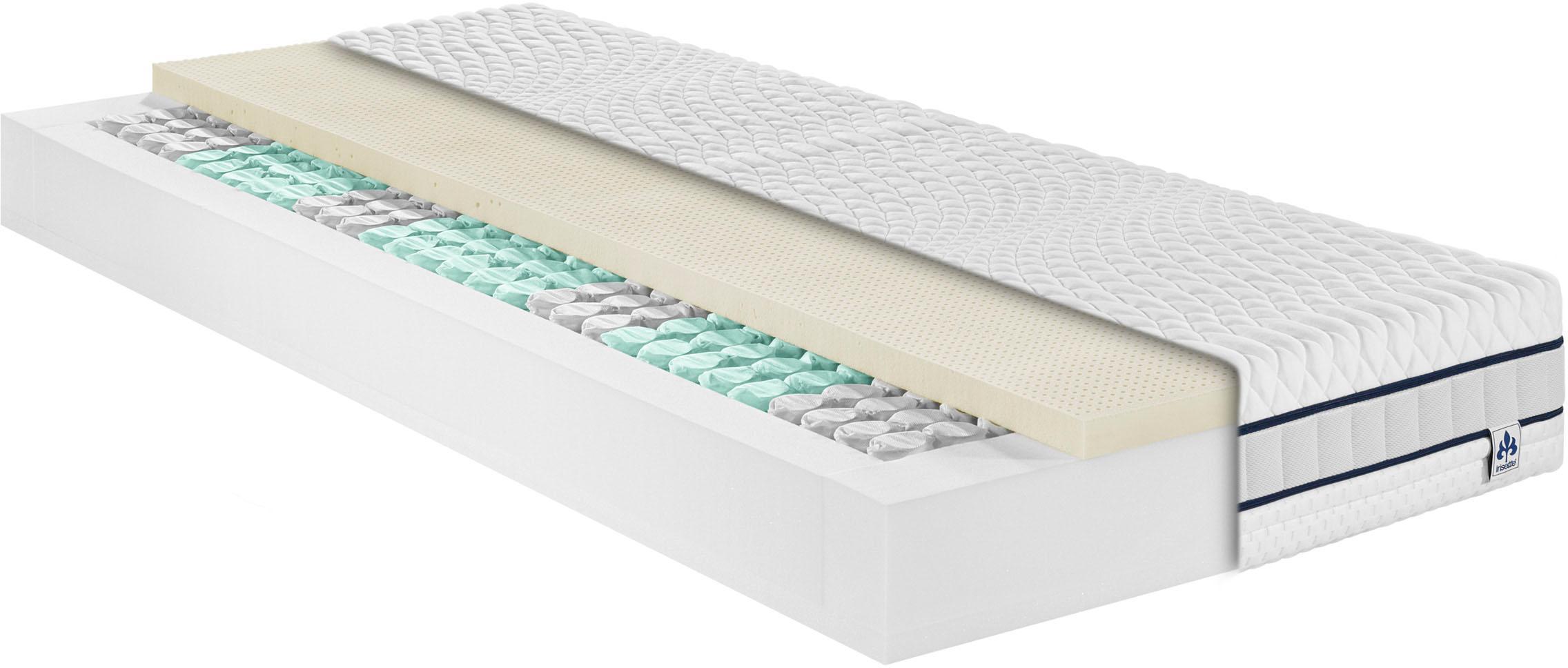 Taschenfederkernmatratze »Stralsund TFK«, Irisette, 22 cm hoch
