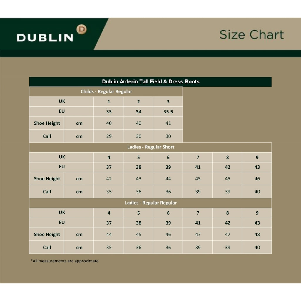 Dublin Reitstiefel »Damen Arderin Leder Lang«