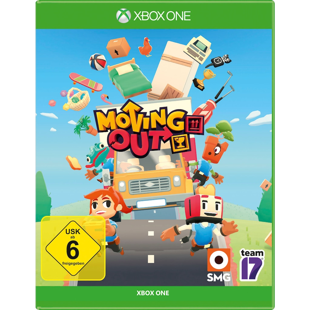 Spiel »Moving Out«, Xbox One