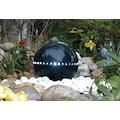 Ubbink Gartenbrunnen »Dubai«, (Dekokugel mit LED Lichtleiste; Pumpe: 900 l/h, 18 W, 230 V; Becken; Abdeckplatte; 10-m-Kabel; 50 ml Reinigungsmittel; Anschlussmaterial)