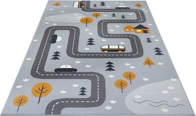 HANSE Home Kinderteppich »Dream Street«, rechteckig, 9 mm Höhe, Straßen-Spielteppich kaufen