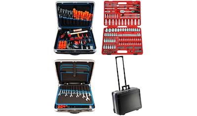 FAMEX Werkzeugset »604-20«, (Set, 302 St.), im Werkzeugkoffer kaufen