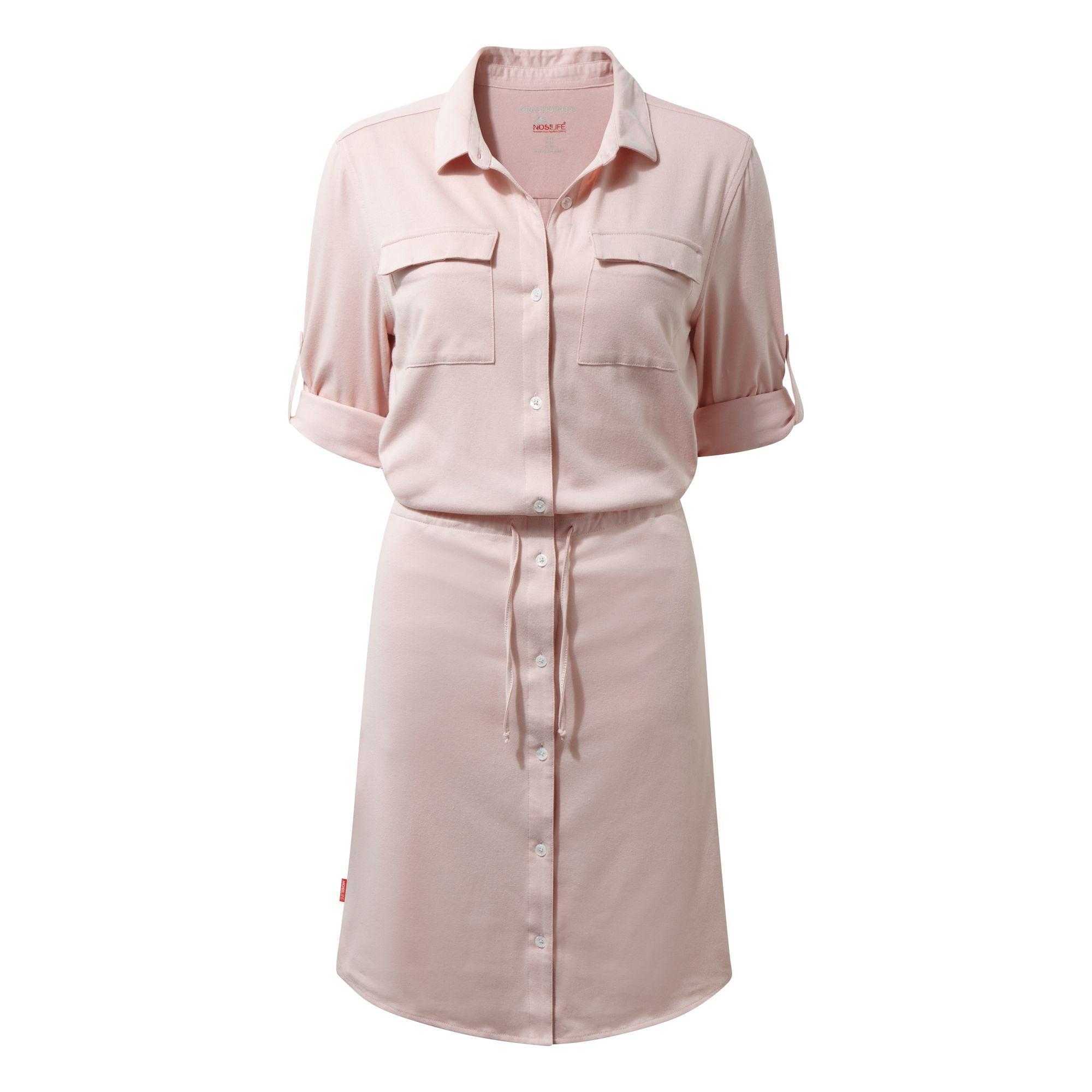 Craghoppers Hemdblusenkleid NosiLife Damen Kleid Daku