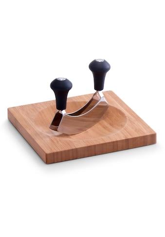 Zeller Present Kräuterschneidebrett »Bamboo«, (Set, 2 St., Wiegemesser) kaufen