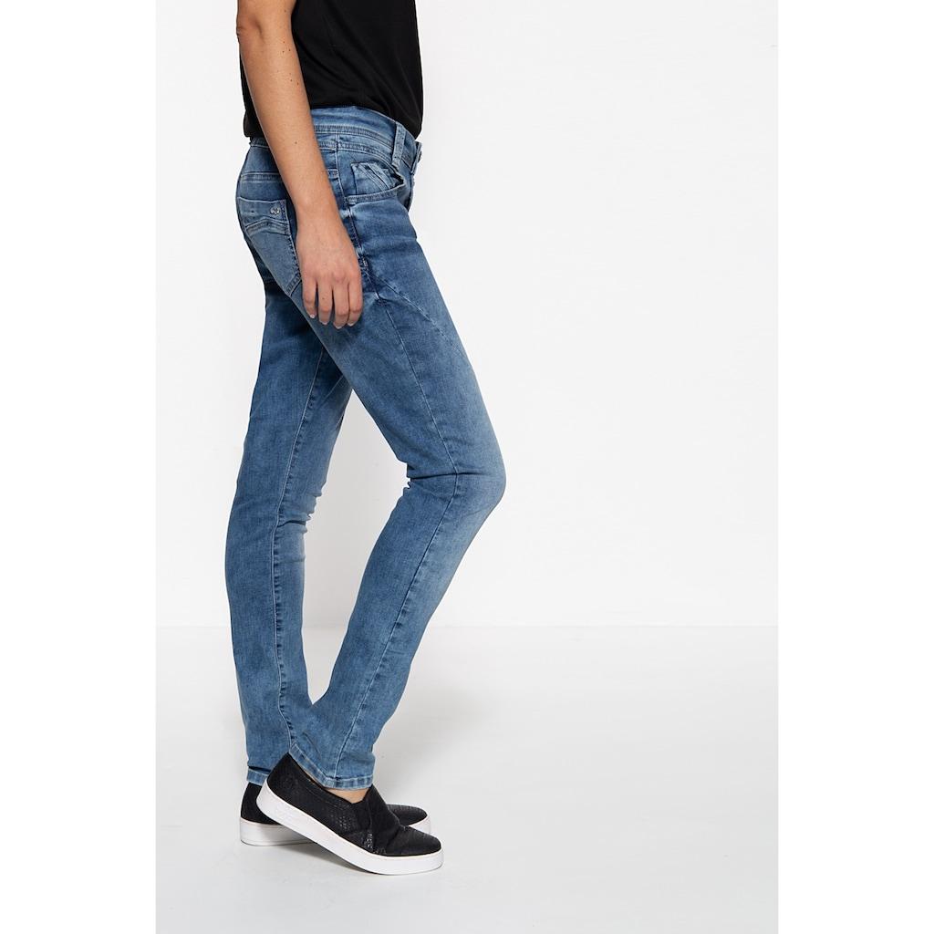 Way of Glory Regular-fit-Jeans, mit Crinkle Effekt