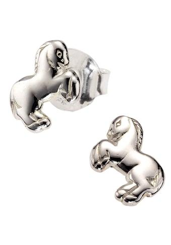 Firetti Paar Ohrstecker »Pferd, glänzendes Design, rhodiniert« kaufen