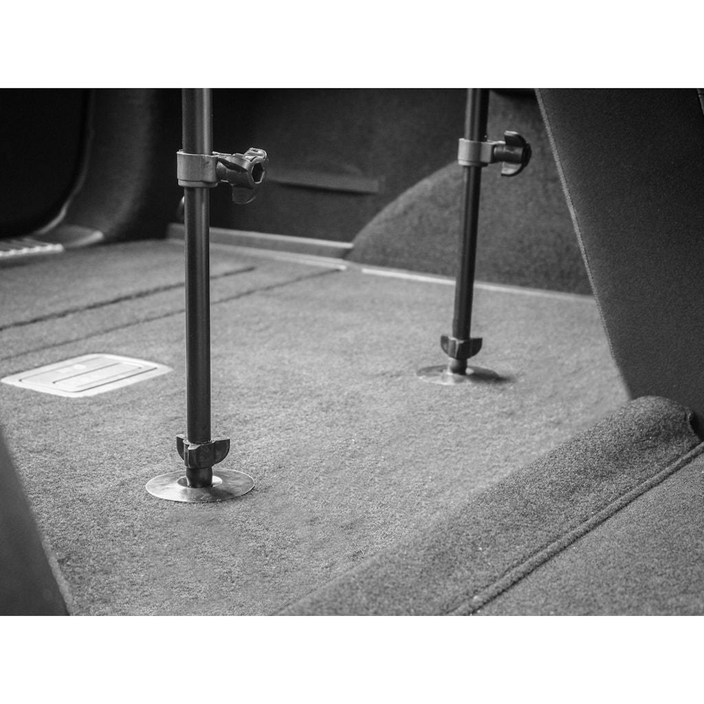 EUFAB Tierabsperrgitter, Metall, Montage ohne Bohren und Schrauben, 158 cm breit