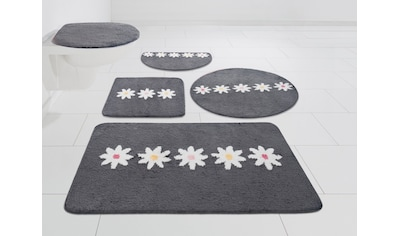 Home affaire Badematte »Daisy«, Höhe 12 mm, strapazierfähig, besonders weich durch Microfaser kaufen
