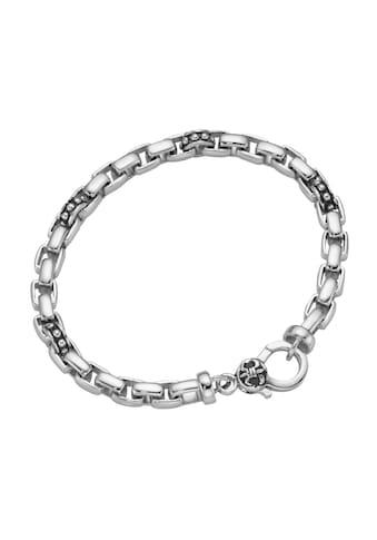GIORGIO MARTELLO MILANO Armband »eckige Glieder, teilweise geschwärzt, Silber 925« kaufen