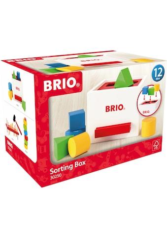 BRIO® Steckspielzeug »Sortierbox«, FSC®-Holz aus gewissenhaft bewirtschafteten Wäldern kaufen