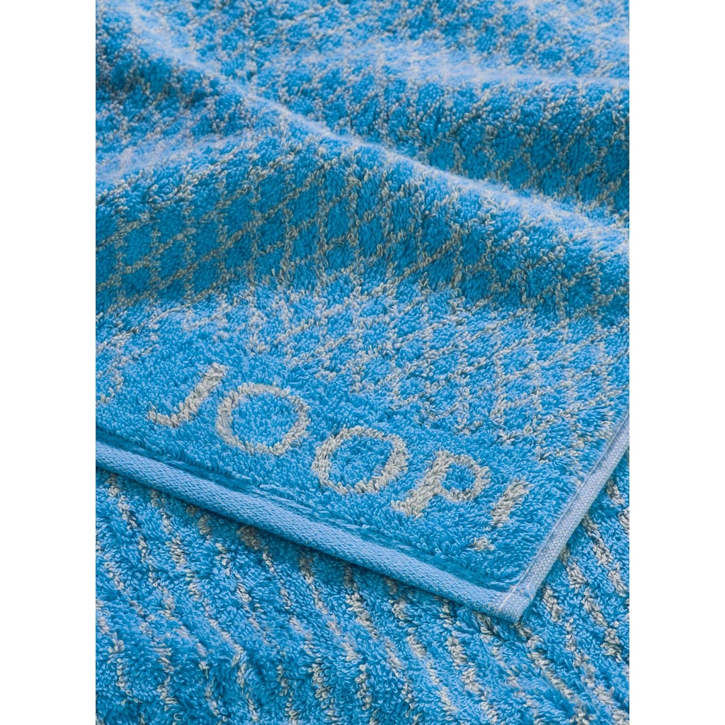 Joop! Badetuch »Diamond Blended«, (1 St.), mit eingewebtem JOOP! Logo