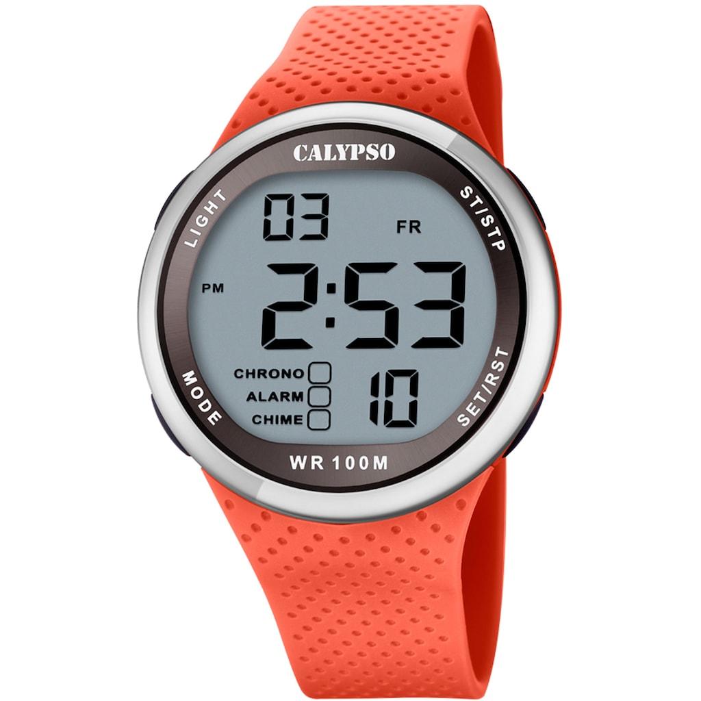 CALYPSO WATCHES Chronograph »Color Splash, K5785/2«