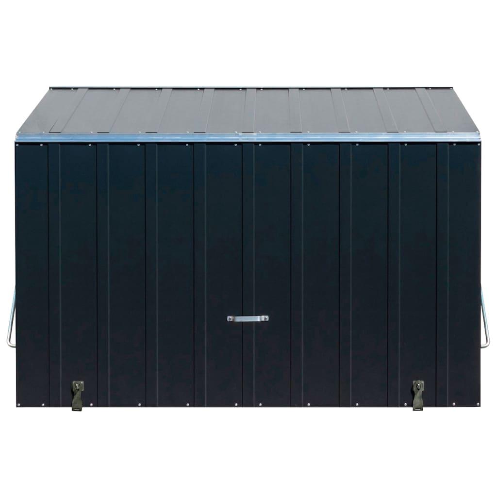 Trimetals Mülltonnenbox »Sesame«, Fahrradbox, BxTxH: 185x76x139 cm