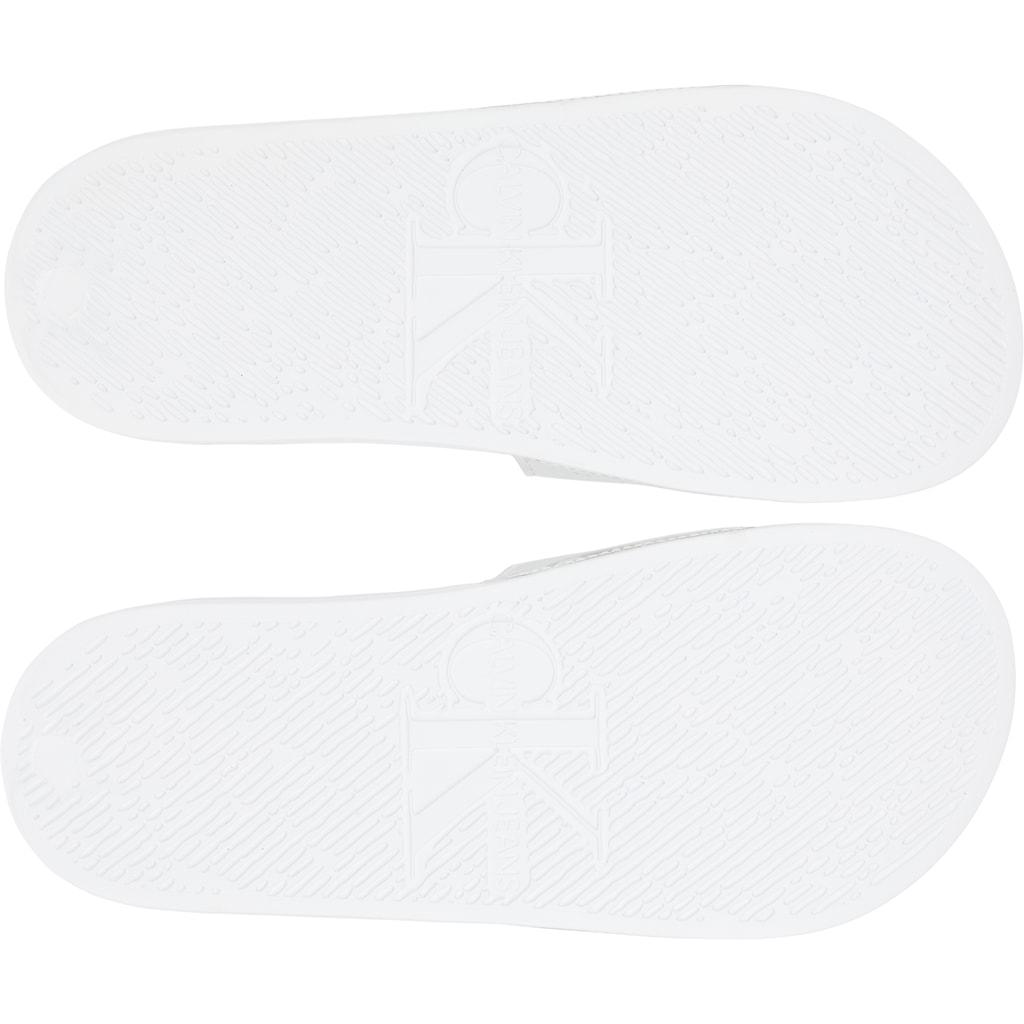 Calvin Klein Pantolette, in Spiegel-Optik