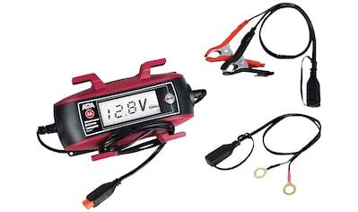 APA Batterieladegerät »6V/12V, 4A «, mit Kabelaufroller und großem Display kaufen