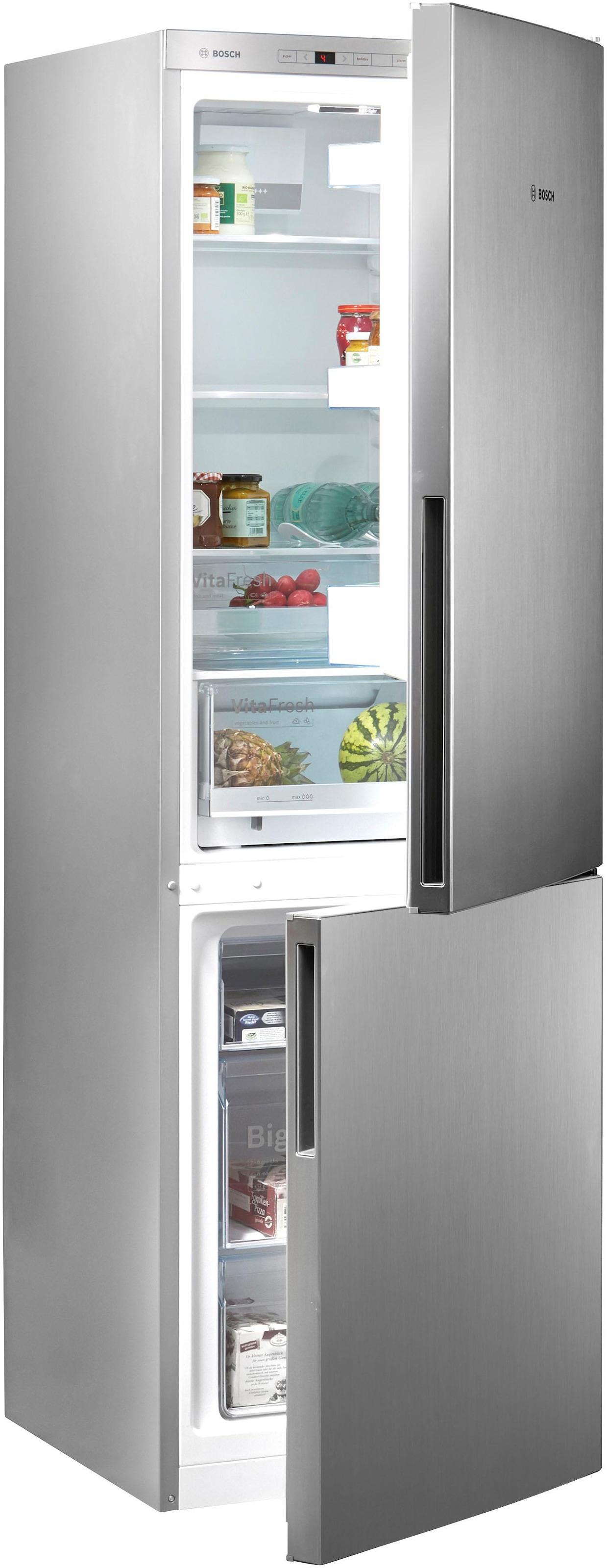 Bosch Kühlschrank Gefrierkombination : Bosch kühl gefrierkombination cm hoch cm breit baur