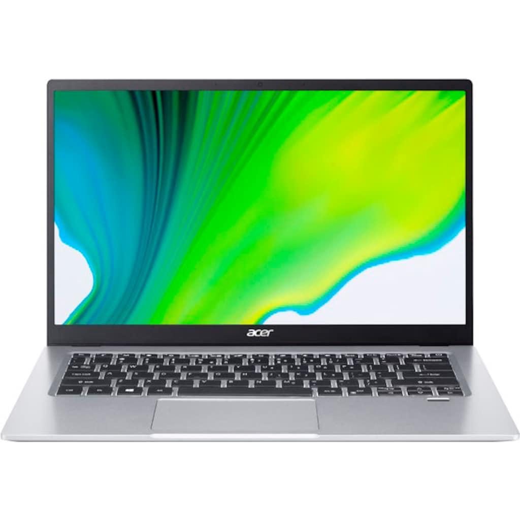 "Acer Notebook »SF114-34-P0TA«, (35,56 cm/14 "" Intel Pentium UHD Graphics\r\n 512 GB SSD), Kostenloses Upgrade auf Windows 11, sobald verfügbar"