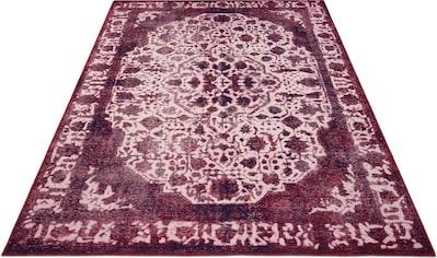 Teppich, »Basima«, DELAVITA, rechteckig, Höhe 6 mm, maschinell gewebt kaufen