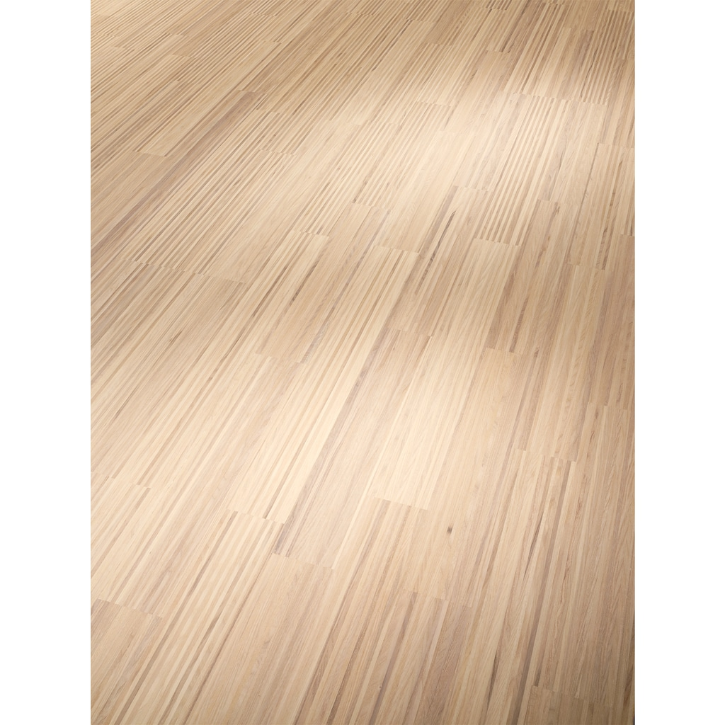 PARADOR Parkett »Classic 3060 Natur - Fineline Esche weiß«, ohne Fuge, 2200 x 185 mm, Stärke: 13 mm, 3,66 m²