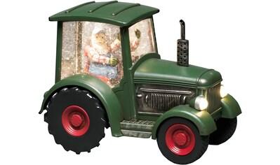 KONSTSMIDE LED Dekolicht, Warmweiß, LED Traktor mit altem Mann, für den Innenbereich,... kaufen